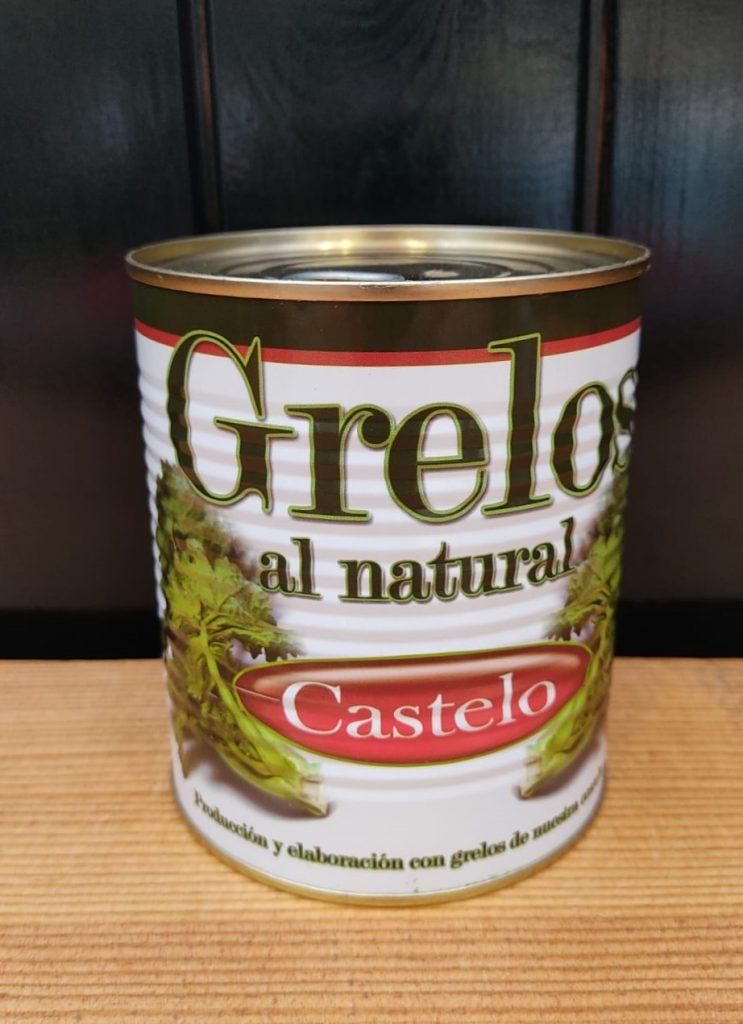 Grelos al natural de Galicia