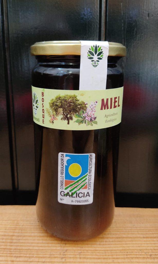 Miel ecológica de flores del bosque de Galicia