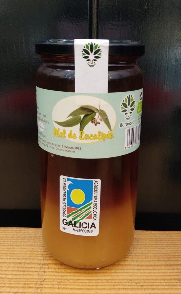 Miel ecológica de Eucalipto de Galicia