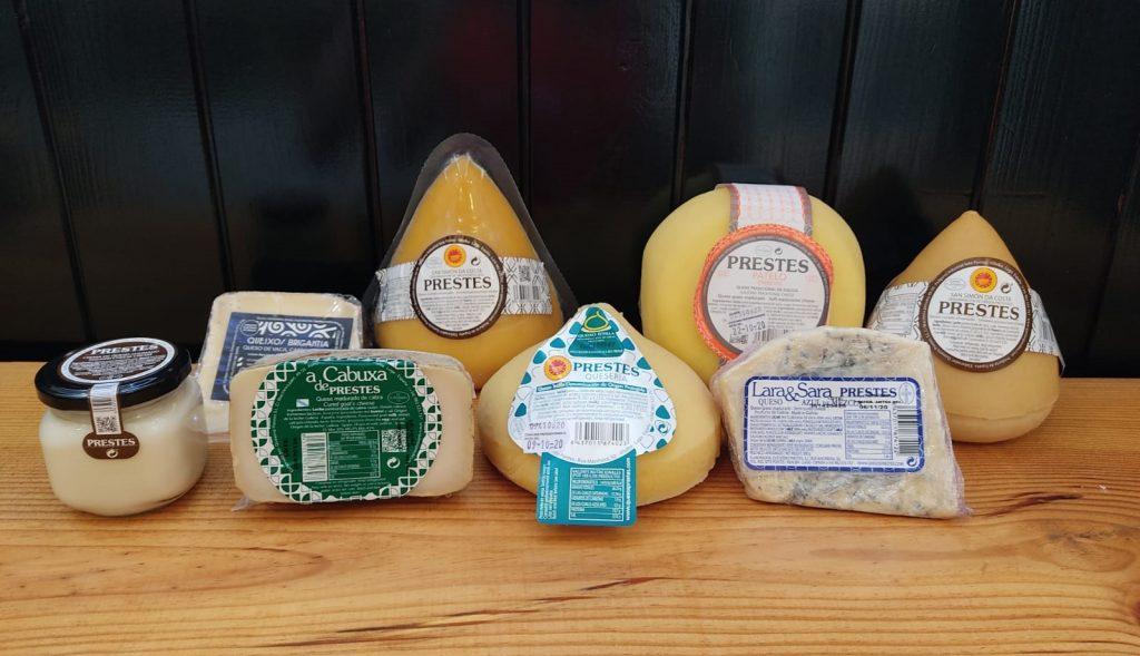 quesos de galicia