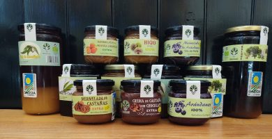 miel y mermelada ecológica de galicia